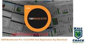SAM Broadcaster PRO 2021.3 Crack