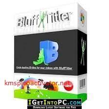 BluffTitler 15.4.0.2 Crack serial key