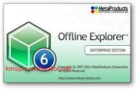 Offline Explorer Pro Crack 8.1 Build 4903